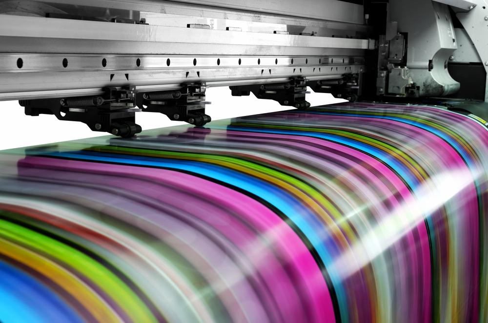 Digitaldruckmaschine Seriendruck