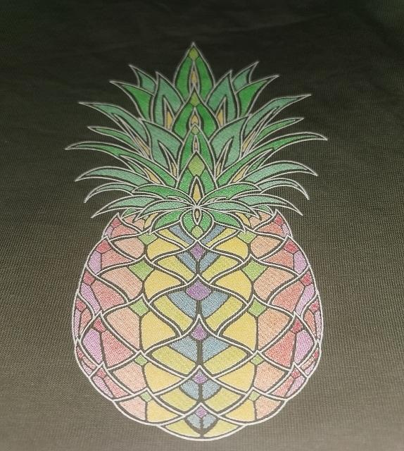 Ananas Textildruck